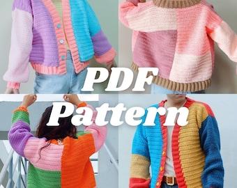 crochet pattern cardigan