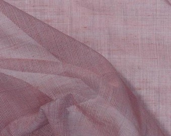 Dusty Rose Cotton Voile Fabric