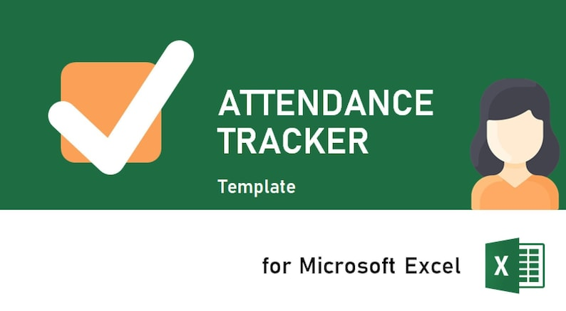 Attendance tracker for Microsoft Excel  Employee attendance  image 1