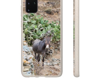 """SAMSUNG and iPHONE Biodegradable Case """"Greek Donky"""""""