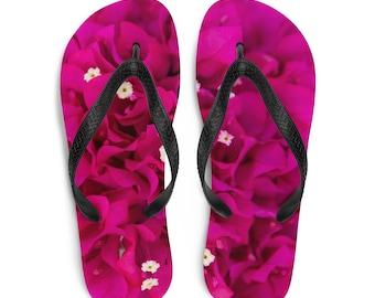"Flip-Flops ""Beach Bougainvillea"""