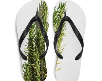 "Flip-Flops ""Greek Cactus"""