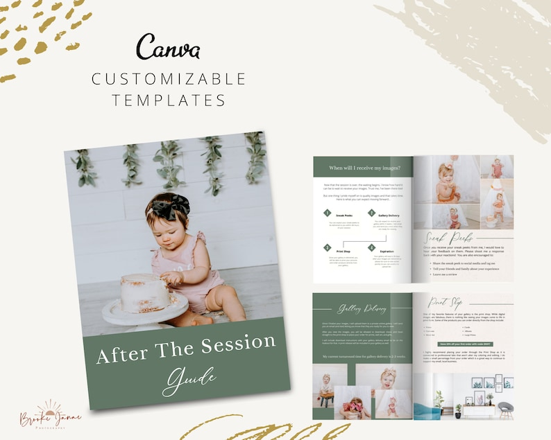 After the Session Guide for Canva  Canva Templates for image 0