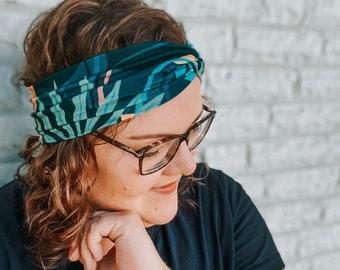 Thin Headband Women's | light hair band petrol | Miss Frieda