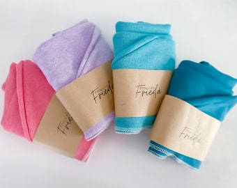 ORGANIC Turban Towel for the Curlygirl Method / Curl Care / Afro hair