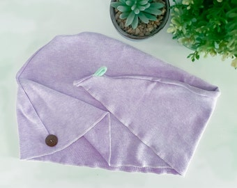 ORGANIC Turban Towel for Curl Care / Afro Hair