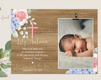 Baptism Gifts for Girls, Christening Gift, Baby Girl Baptism Gift, Baptism Gift Ideas, Personalized Baptism Gift Presents from Godparents
