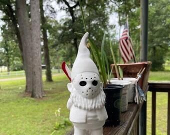 Friday the 13th Jason Garden Gnome