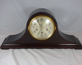 Ansonia quot Sonia No. 13 quot Westminster Tambour Mantel Clock. Clean, and overhauled