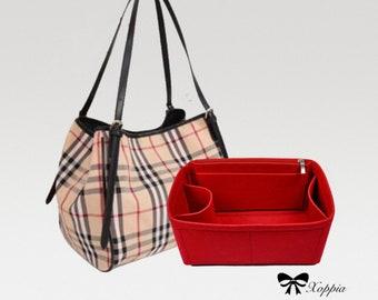 Bag Organizer For BBR Canterbury Tote Bag. Bag Insert For Classical Designer Bag.