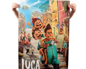 Luca Movie Poster, Quality Glossy Print, Photo Wall Art, Disney Movie Poster #2