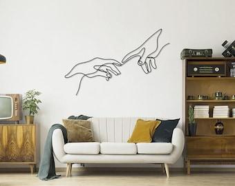 Plex Wall Art, hands design Sign, Plex Wall Decor, hands Panel Plex Wall Art, Home Decoration