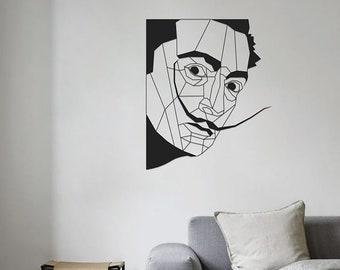 Plex Wall Art, Dalì design Sign, Plex Wall Decor, Salvador Dalì Panel Plex Wall Art, Home Decoration