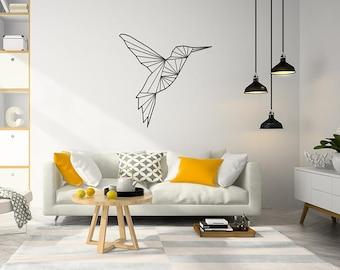 Plex Wall Art, hummingbird design Sign, Plex Wall Decor, hummingbird Panel Plex Wall Art, Home Decoration