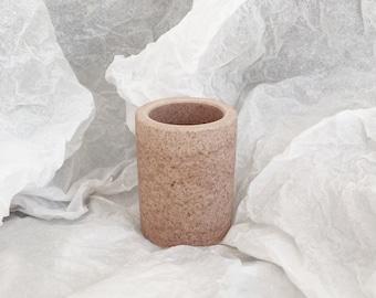 Grand pot à crayon - teinte 2 Opaline