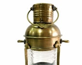Nautical Antique 10 quot Ship Lamp Boat Oil Lantern Maritime Collectible Home Decor gift