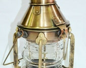 15 quot Maritime Nautical Brass Lighthouse Lantern Ship Lamp Home Decorative Antique gift