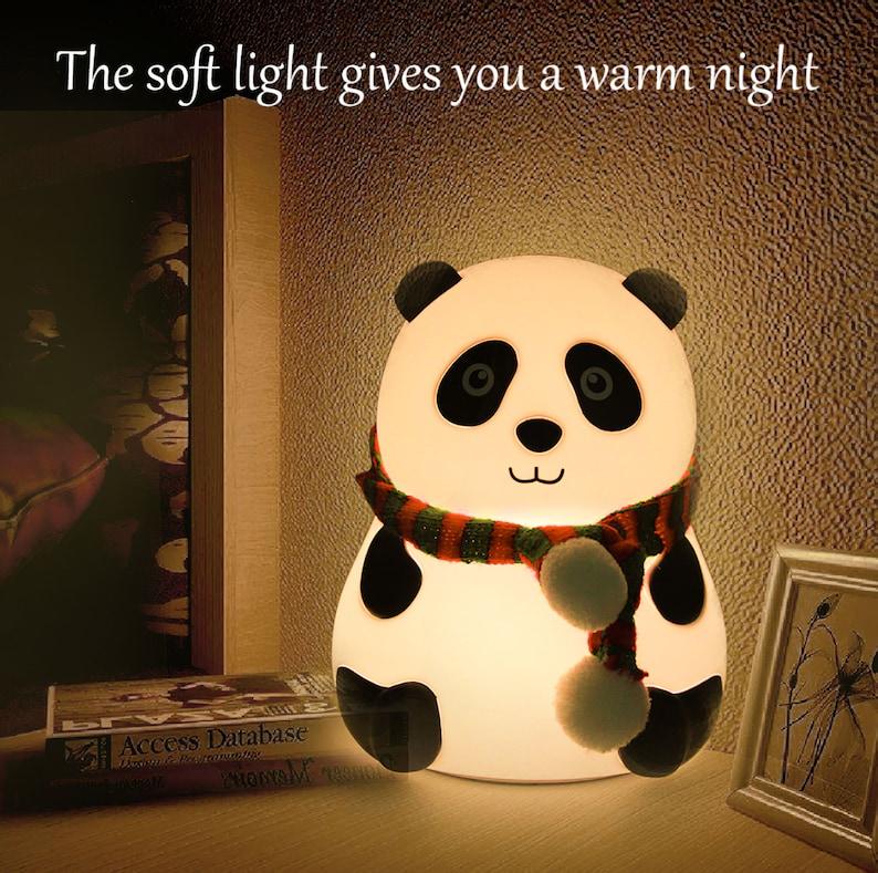 18. Panda Night Light
