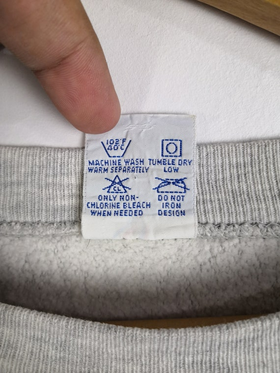 Vintage 90s Champion Reverse Weave Sweatshirt Cre… - image 5