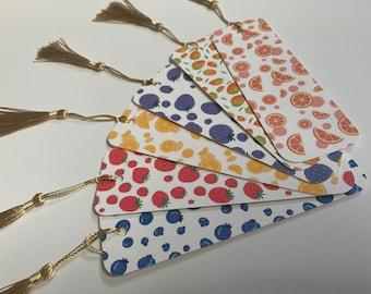 Fruit Bookmarks