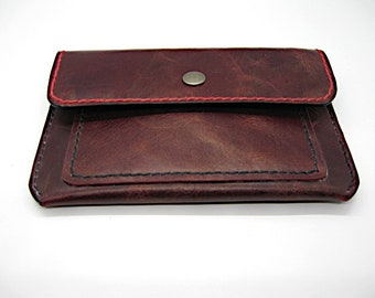Leather Passport Cover, Leather Field Note cover Lined with PigSkin