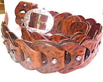 Handmade Fashion Belt for Women (Adjustable) with matching bracelet