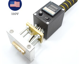 Super Sale - Limited Time - Electric Branding Iron for Leather Stamping, Wood Branding, 500W with digital temperature control
