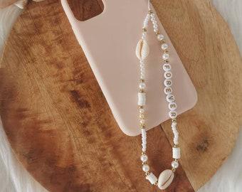 Phone Jewelry | Customizable phone jewel| Grigri | Phonestraps | Laptop cord | Gift idea woman | Shell model