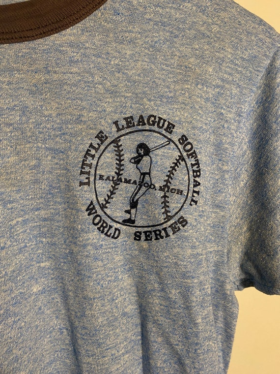 """Vintage 1970s/80s Russell """"Little League Softball… - image 2"""