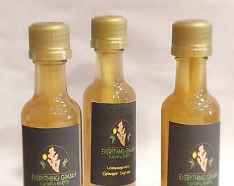 Lemongrass Ginger syrup mixture   (3)- 1fl oz