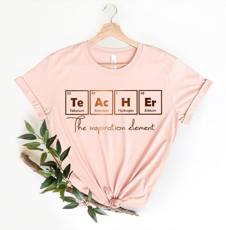 Periodic Teacher Shirt  Teacher Gift School 2021 Teacher image 0