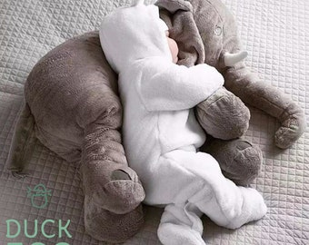 Snuggle Me Elephant   Elephant Baby Comforter   Christmas Gift For Baby   Elephant Pillow   Baby Gift   Nursery Decor   Newborn Gift