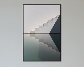 Stairs - Architecture Photography Fine Art Print