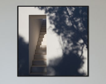 Shadows - Architecture Photography Fine Art Print
