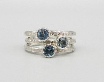 Blue Skies Aquamarine ring