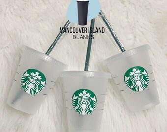 16oz mini acrylic Starbucks cups