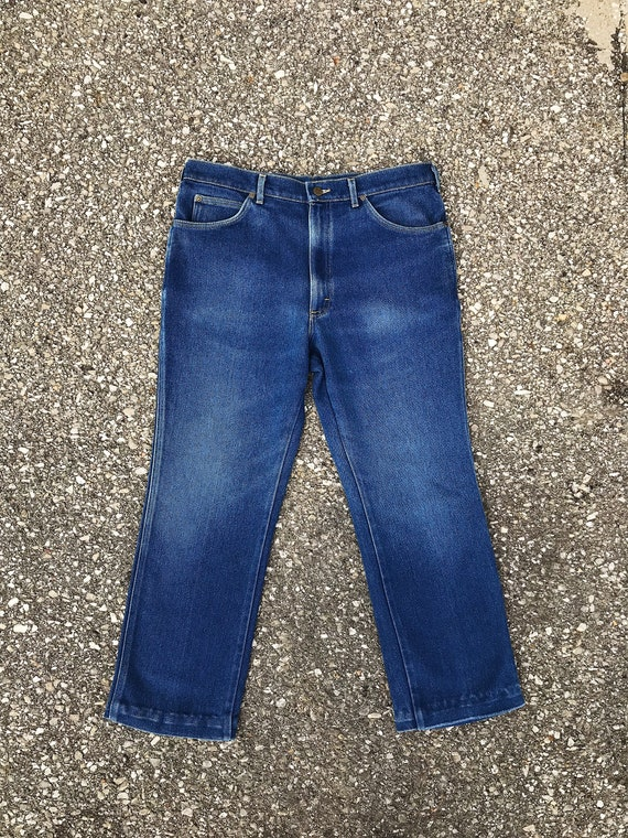 1980's Lee Riders Jeans - image 1