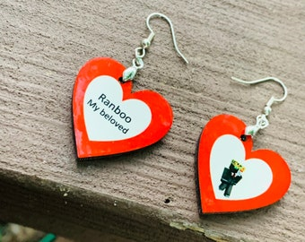 Ranboo earrings