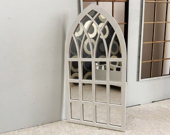Dollhouse Frame and mirror for classic styles. Window frame or mirror 1:6  Scale Unfinished, Black, White or Bronze