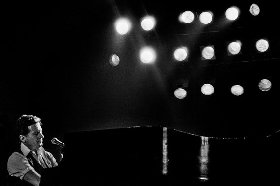 Jerry Lee Lewis on stage