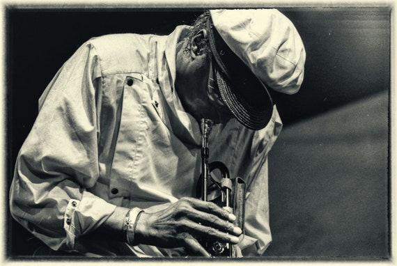 Miles Davis live on stage