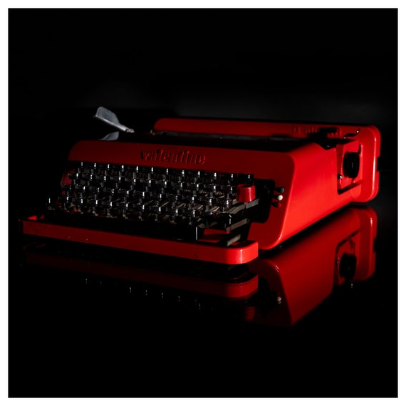The Olivetti Valentine Typewriter