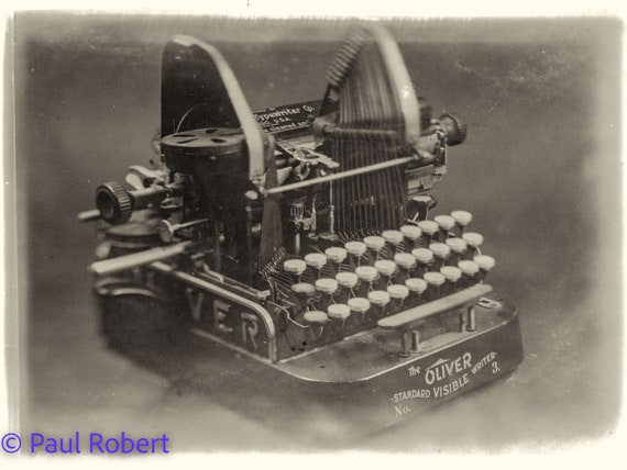 Oliver 3 typewriter - The expired series