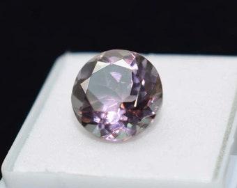 "Pretty 6-14mm Purple Alexandrite Round Gemstone Beads Necklace 18/"" AAA+"