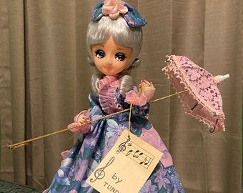 Vintage Tundra Doll/Music Box