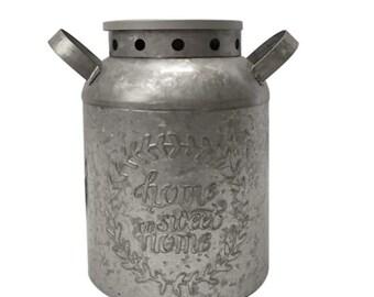 Shekinah Farmhouse Tin Can Wax warmer