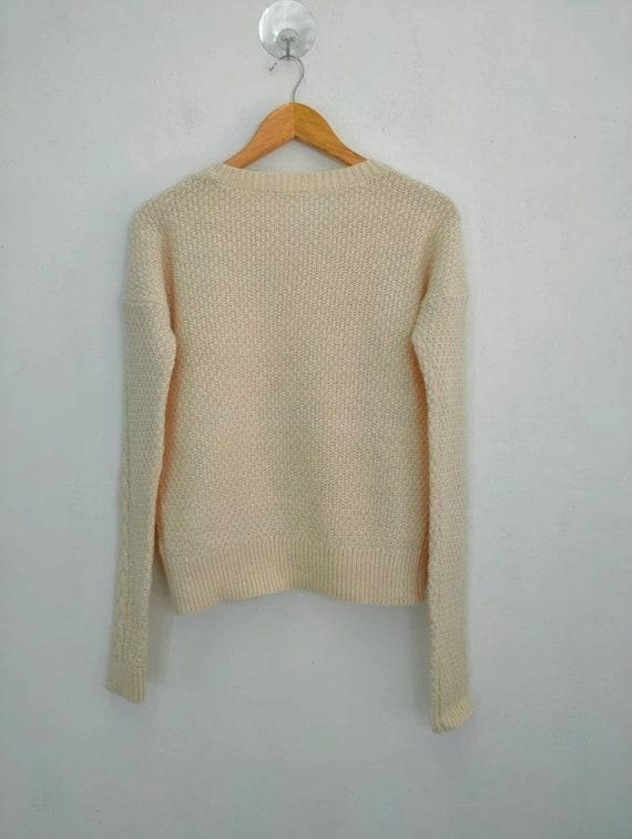 Uniqlo cable aran isle knit vintage cable knitwea… - image 5