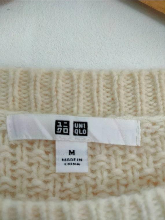 Uniqlo cable aran isle knit vintage cable knitwea… - image 9