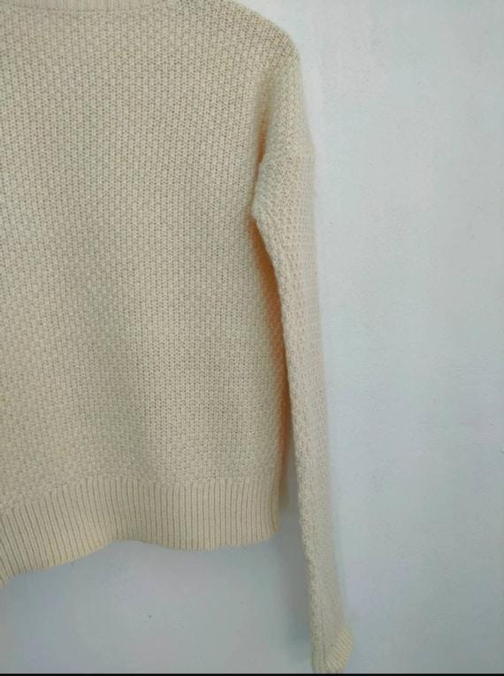 Uniqlo cable aran isle knit vintage cable knitwea… - image 7