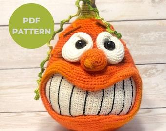 Crochet pumpkin pattern Easy crochet pattern Amigurumi doll pattern Cutest pumpkin Gnome pattern Plush pattern Velvet pumpkins